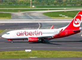 Air Berlin muss sich dringend aus den roten Zahlen retten