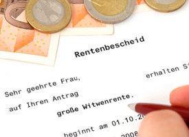 Die Witwenrente in Deutschland